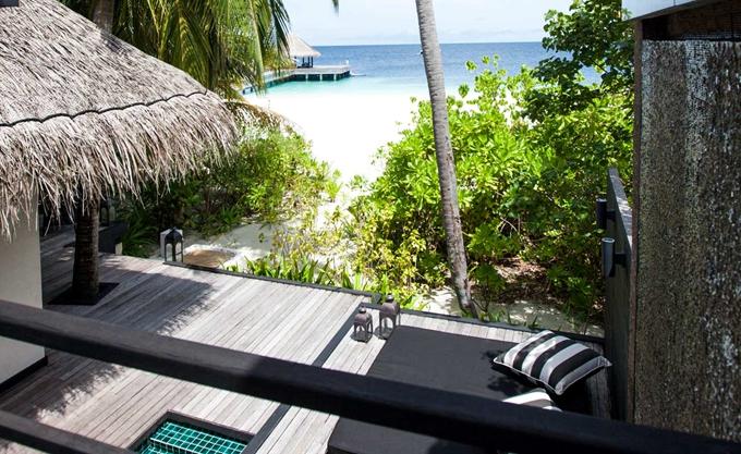 沙滩泳池别墅-Beach Pool Villa 房型图片及房间装修风格(奥瑞格卡纳塔 Outrigger Konotta)海岛马尔代夫