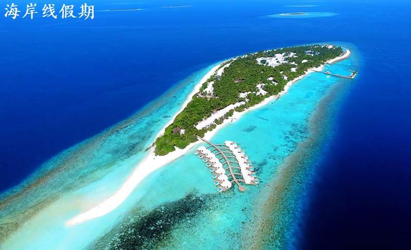 戴加利岛,迪加尼 Dhigali Maldives 鸟瞰地图birdview map清晰版 马尔代夫