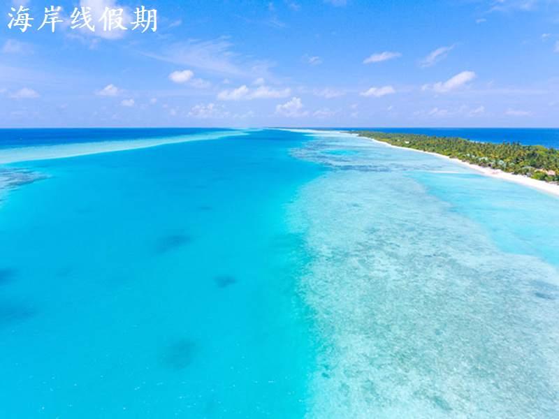 康迪玛度假村 Kandima Maldives 鸟瞰地图birdview map清晰版 马尔代夫