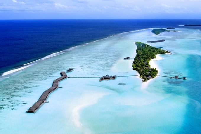 丽世岛|原迪瓦岛 LUX* Maldives 鸟瞰地图birdview map清晰版 马尔代夫