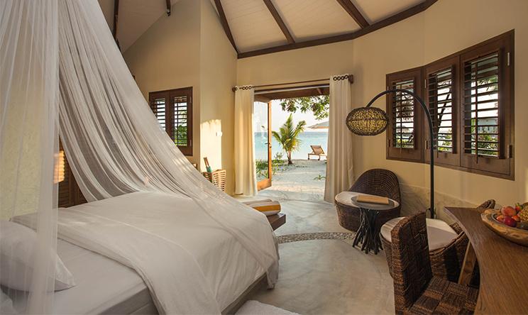 沙滩别墅-Beach villa 房型图片及房间装修风格(隐居岛 Drift thelu veliga retreat maldives)海岛马尔代夫
