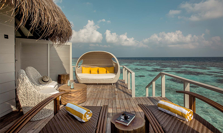 水上别墅-Water villa 房型图片及房间装修风格(隐居岛 Drift thelu veliga retreat maldives)海岛马尔代夫