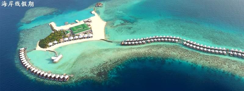 马尔代夫 卡戴帕茹岛|大公园岛 Grand Park Kodhipparu Maldives 平面地图查看