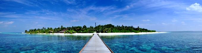 维利多岛 Velidhu Island Resort 鸟瞰地图birdview map清晰版 马尔代夫