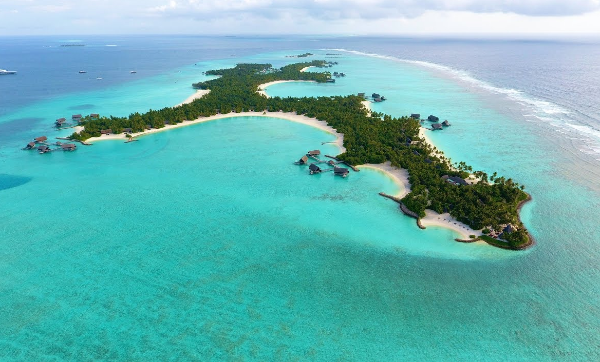 唯一岛|唯逸岛|OO岛 One Only Reethi Rah 鸟瞰地图birdview map清晰版 马尔代夫