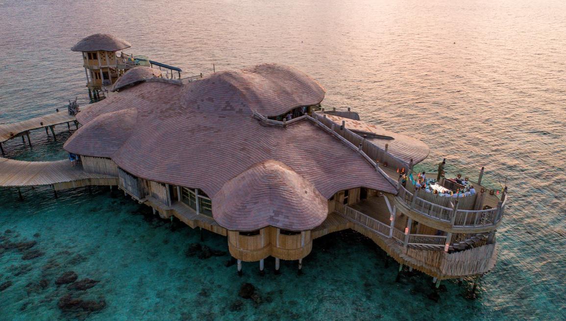 索尼娃芙西岛度假村 Soneva Fushi ,马尔代夫风景图片集:沙滩beach与海水water太美,泳池pool与水上活动watersport好玩