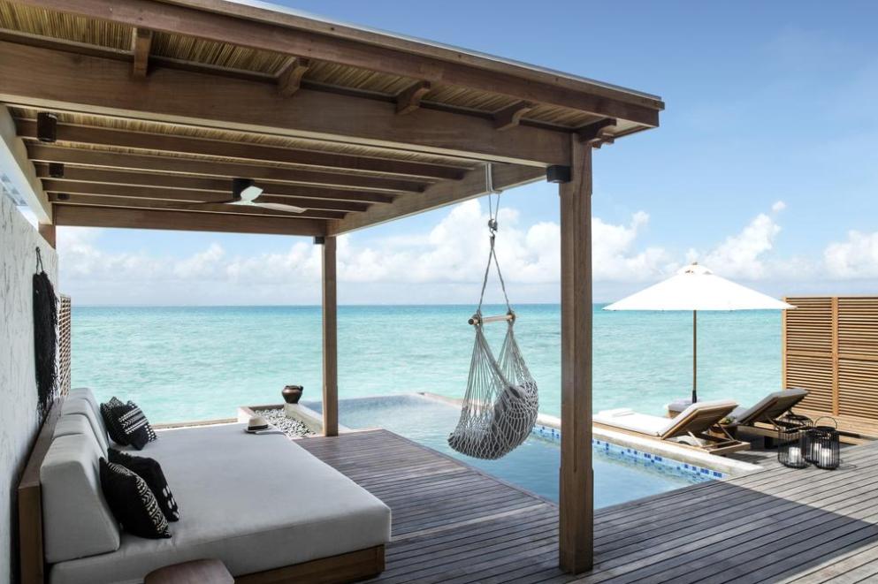 斯茹芬富士岛 Sirru Fen Fushi ,马尔代夫风景图片集:沙滩beach与海水water太美,泳池pool与水上活动watersport好玩