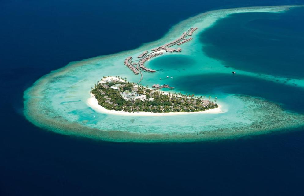 哈拉薇利|康斯坦斯 Constance Halaveli 鸟瞰地图birdview map清晰版 马尔代夫
