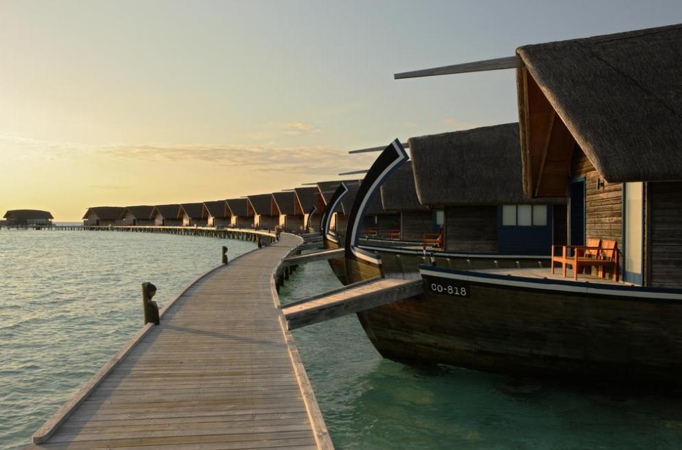 可可亚岛 Cocoa Maldives ,马尔代夫风景图片集:沙滩beach与海水water太美,泳池pool与水上活动watersport好玩
