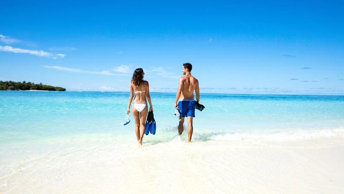 肯尼呼拉岛|卡努呼拉 Kanuhura ,马尔代夫风景图片集:沙滩beach与海水water太美,泳池pool与水上活动watersport好玩