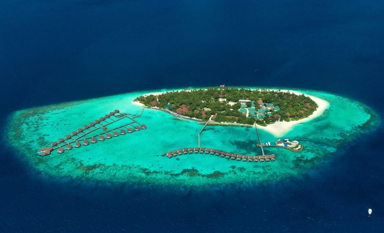 鲁宾逊|罗宾逊|鲁滨逊 Robinson Club 鸟瞰地图birdview map清晰版 马尔代夫