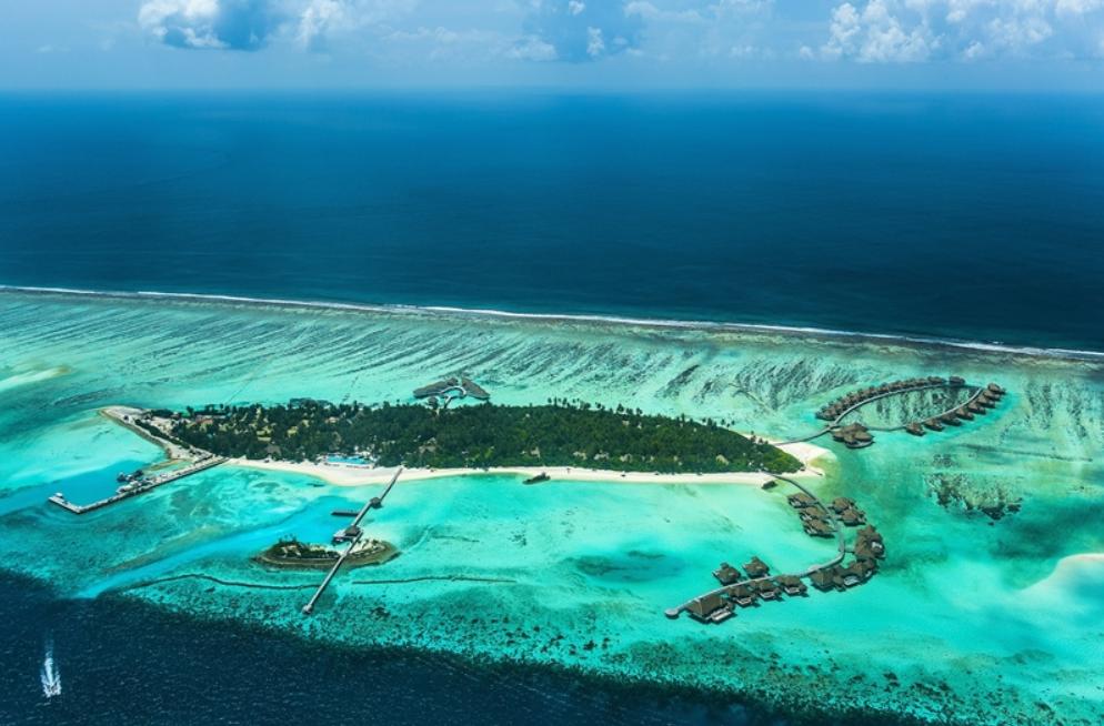 玛丽富士 COMO Maalifushi 鸟瞰地图birdview map清晰版 马尔代夫