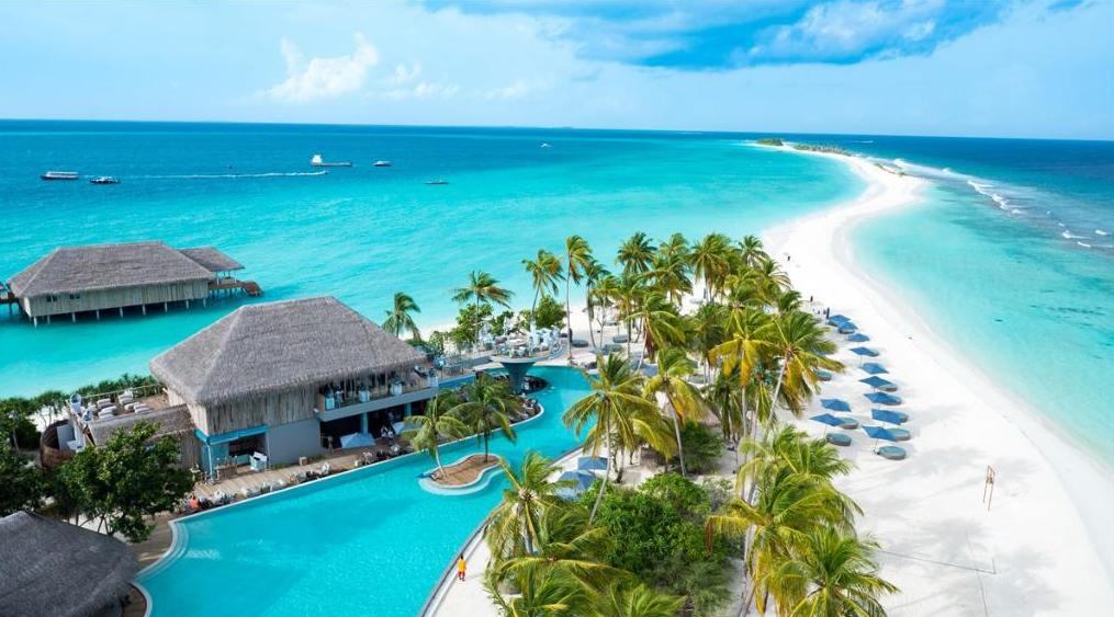 菲诺芙岛 Finolhu Maldives 鸟瞰地图birdview map清晰版 马尔代夫