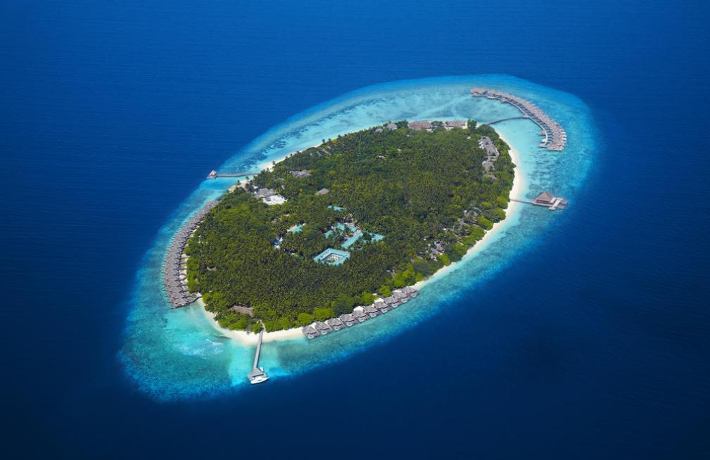 都喜天阙 Dusit Thani 鸟瞰地图birdview map清晰版 马尔代夫