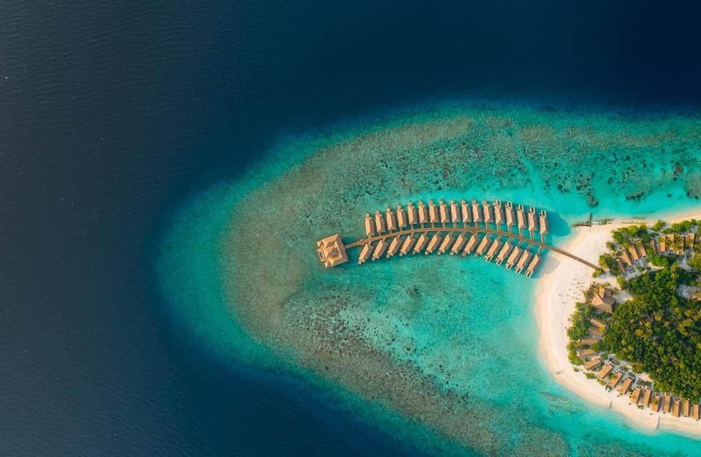 库达富士度假村 KUDAFUSHI RESORT and SPA ,马尔代夫风景图片集:沙滩beach与海水water太美,泳池pool与水上活动watersport好玩