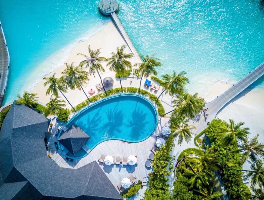 maldives 中央格兰德 Centara Grand 漂亮马尔代夫图片相册集