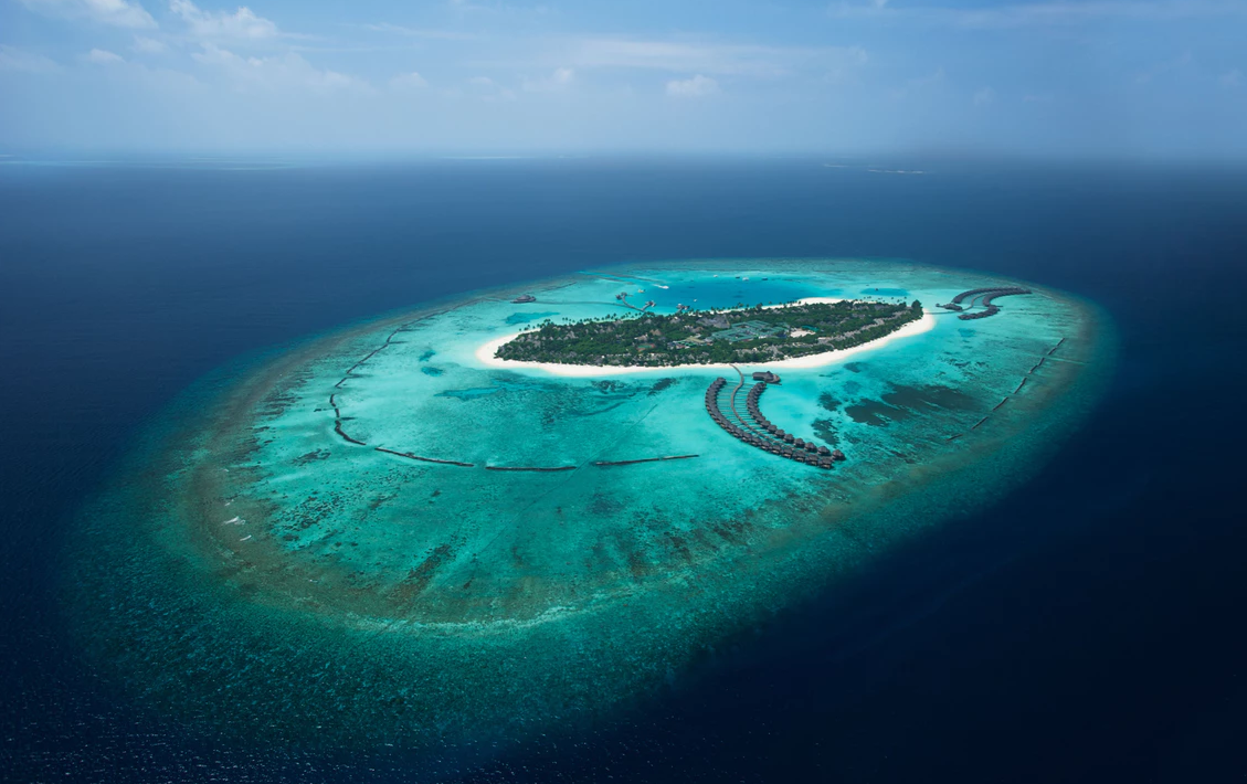 伊露岛|伊露富士 THE SUN SIYAM IRU FUSHI  鸟瞰地图birdview map清晰版 马尔代夫
