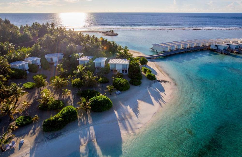 康杜玛(马)岛 Kandooma Maldives ,马尔代夫风景图片集:沙滩beach与海水water太美,泳池pool与水上活动watersport好玩