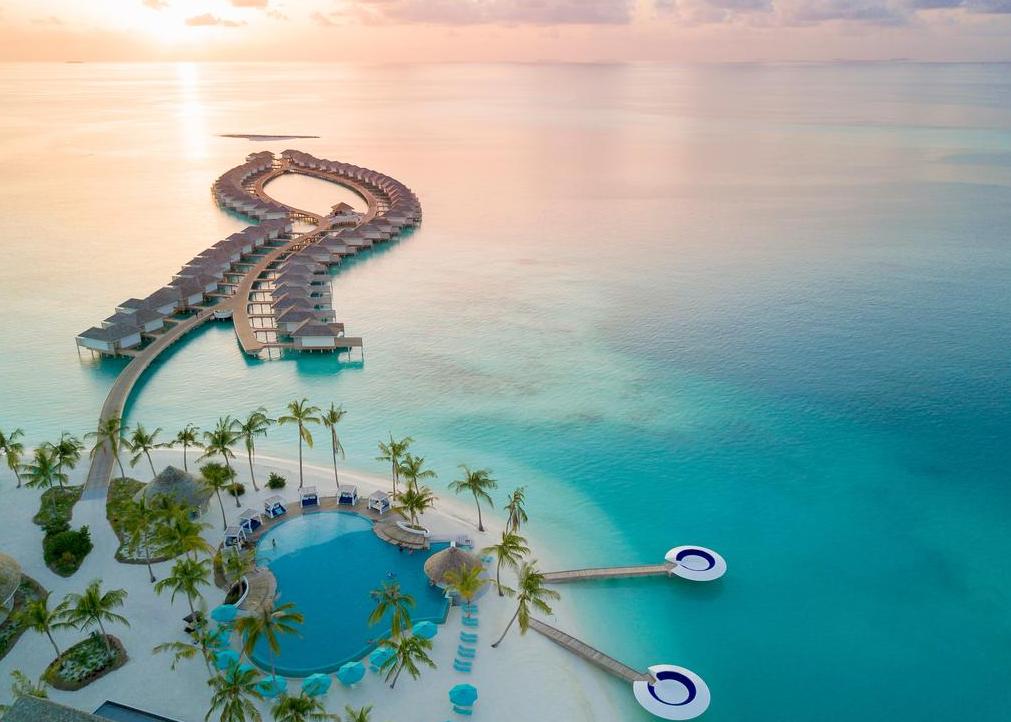 康迪玛|坎迪玛 Kandima Maldives 鸟瞰地图birdview map清晰版 马尔代夫