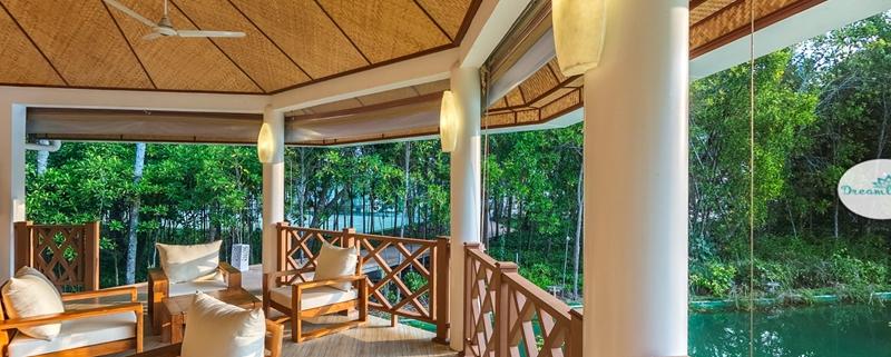 梦境岛 Dreamland Island ,马尔代夫风景图片集:沙滩beach与海水water太美,泳池pool与水上活动watersport好玩