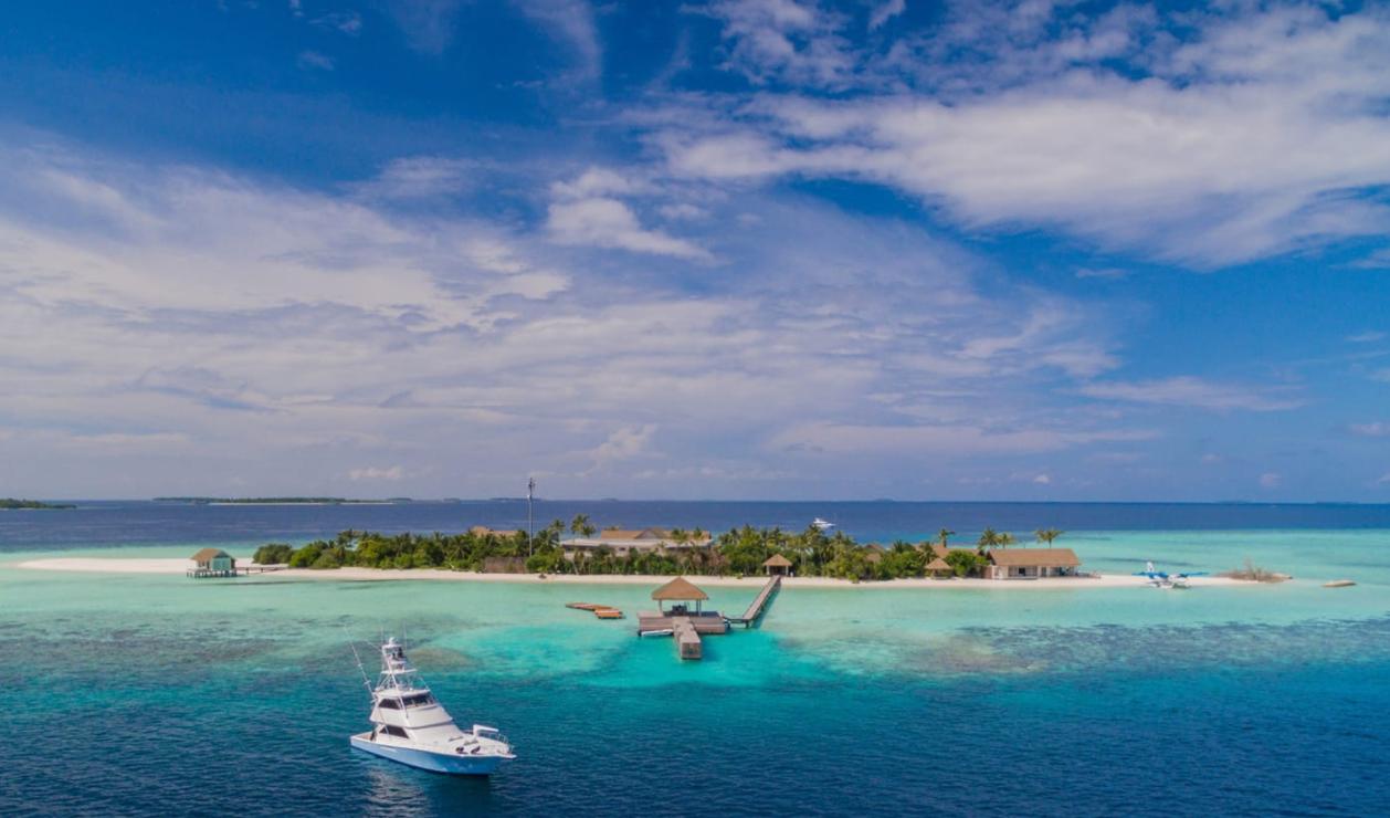 马尔代夫 四季沃亚瓦私人岛 four saesaon private island at voavah 平面地图查看