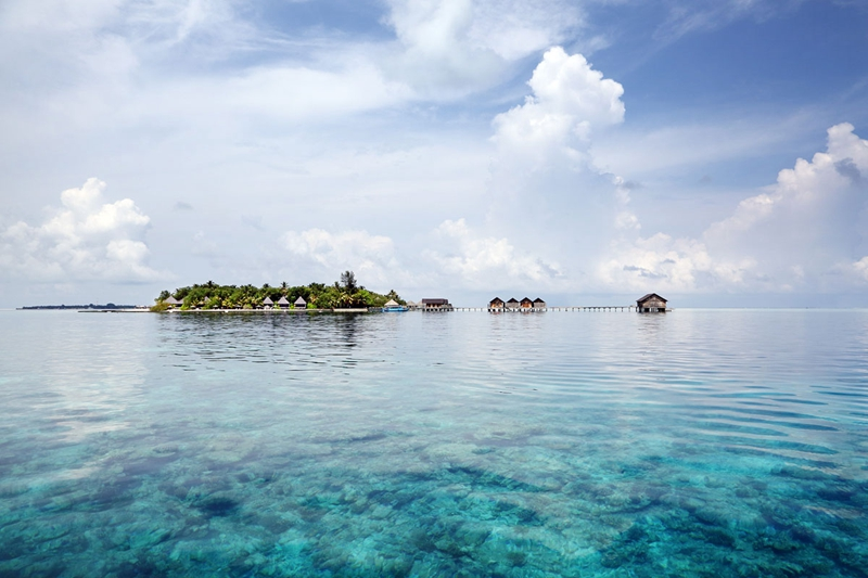 甘格西岛 Gangehi Island Resort ,马尔代夫风景图片集:沙滩beach与海水water太美,泳池pool与水上活动watersport好玩