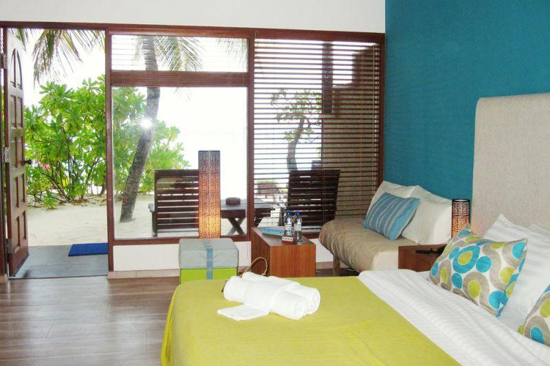 豪华客房-Deluxe room 房型图片及房间装修风格(埃雅度 Eriyadu Island Resort)海岛马尔代夫