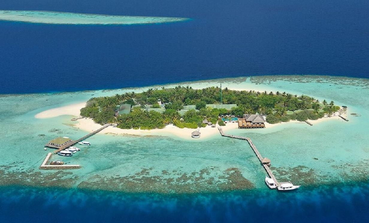 埃雅度|艾瑞亚 Eriyadu Island Resort 鸟瞰地图birdview map清晰版 马尔代夫