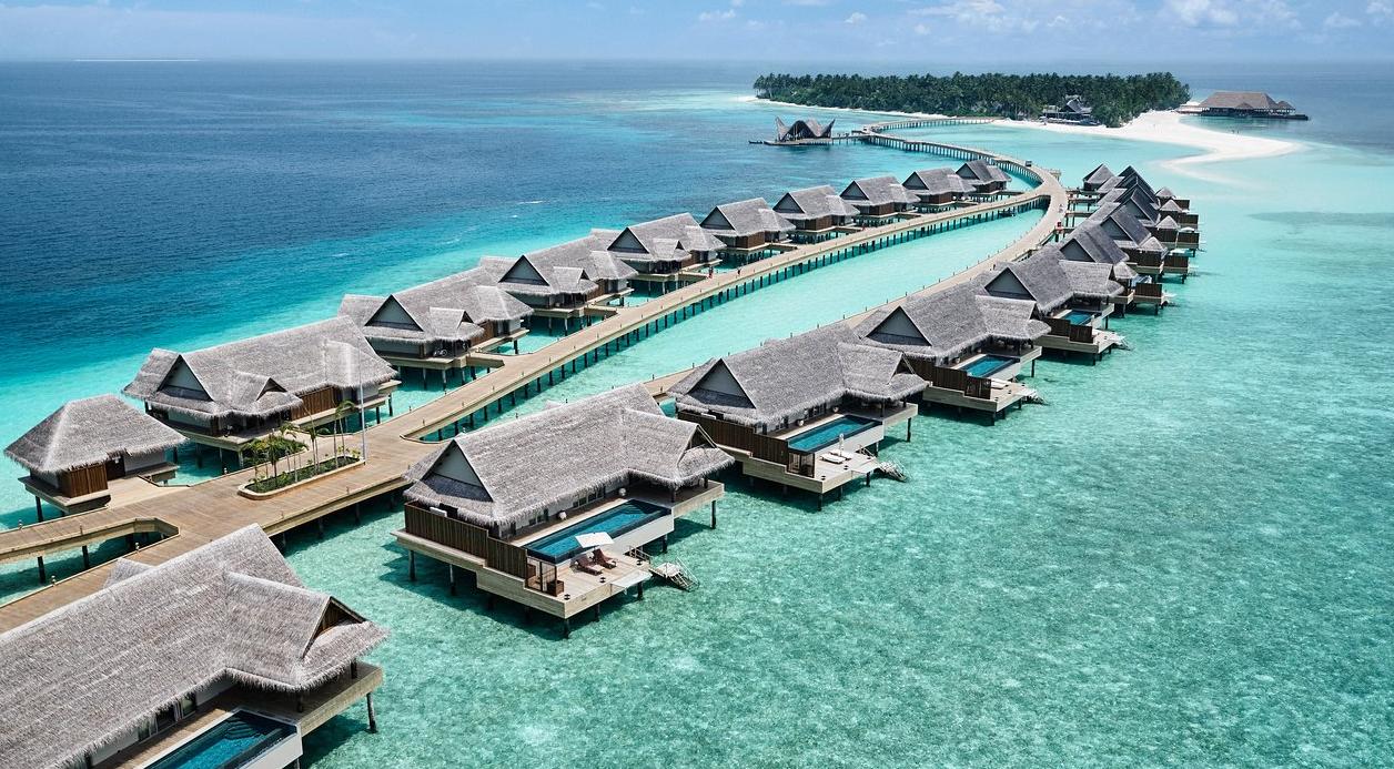 马尔代夫 娇丽岛 Joali Maldives 平面地图查看
