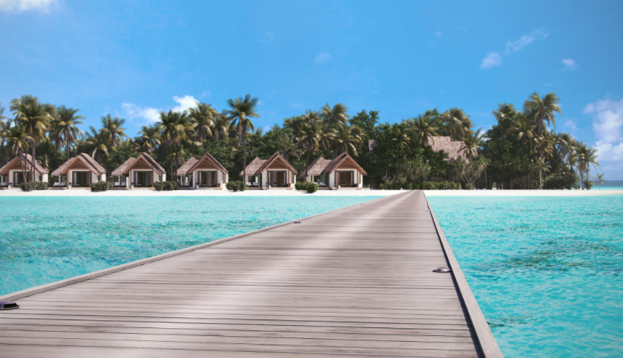 海瑞坦斯阿拉岛 Heritance Aarah Maldives Luxury Resort ,马尔代夫风景图片集:沙滩beach与海水water太美,泳池pool与水上活动watersport好玩