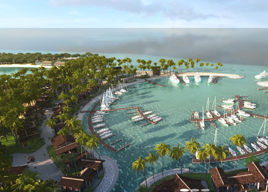 十字路口希尔顿 SAii crossroads hilton saii resorts 鸟瞰地图birdview map清晰版 马尔代夫