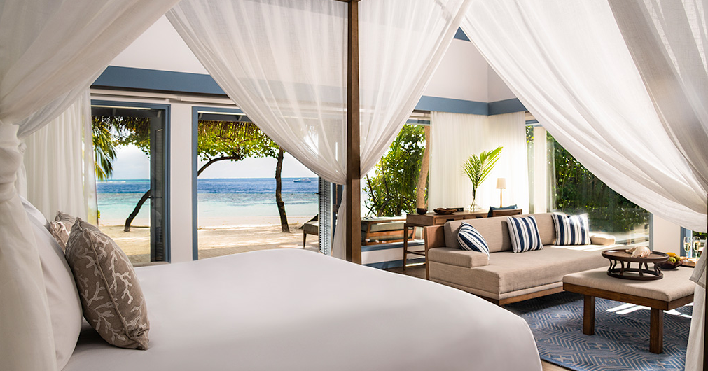 莱佛士梅拉德岛 Raffles Maldives Meradhoo ,马尔代夫风景图片集:沙滩beach与海水water太美,泳池pool与水上活动watersport好玩