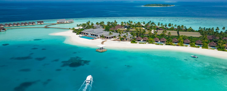 马尔代夫 卡佩迪恩及乐岛 (极乐岛) Carpe Diem Beach Resort  Spa 平面地图查看