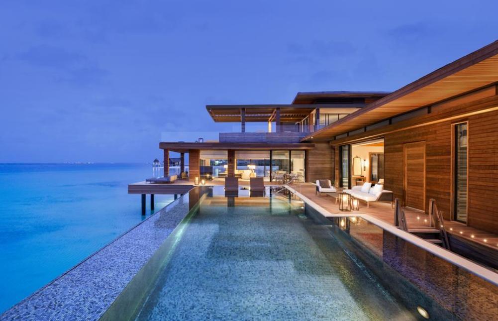 华尔道夫.伊塔富士岛|希尔顿 Waldorf Astoria Maldives Ithaafushi ,马尔代夫风景图片集:沙滩beach与海水water太美,泳池pool与水上活动watersport好玩