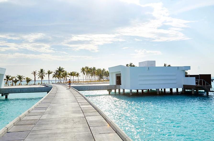 马尔代夫 悦宜湾奢享|宫殿酒店 Riu Palace Maldivas 平面地图查看