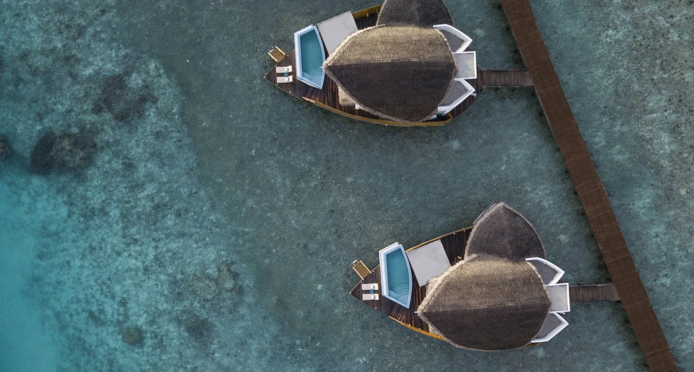 万豪酒店 JW Marriott Maldives Resort Spa ,马尔代夫风景图片集:沙滩beach与海水water太美,泳池pool与水上活动watersport好玩