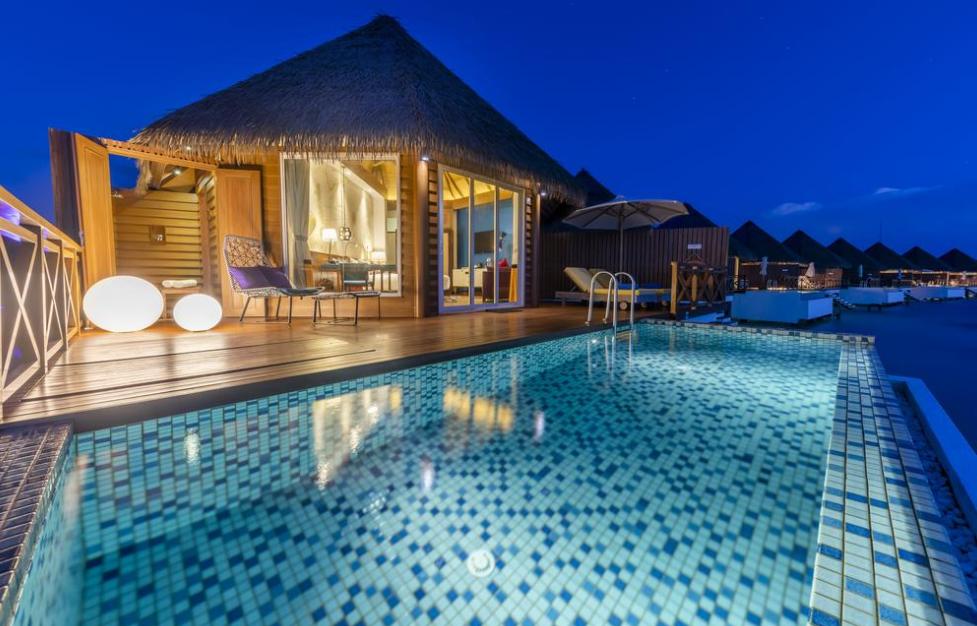 maldives 美居度假村 Mercure Maldives Kooddoo 漂亮马尔代夫图片相册集