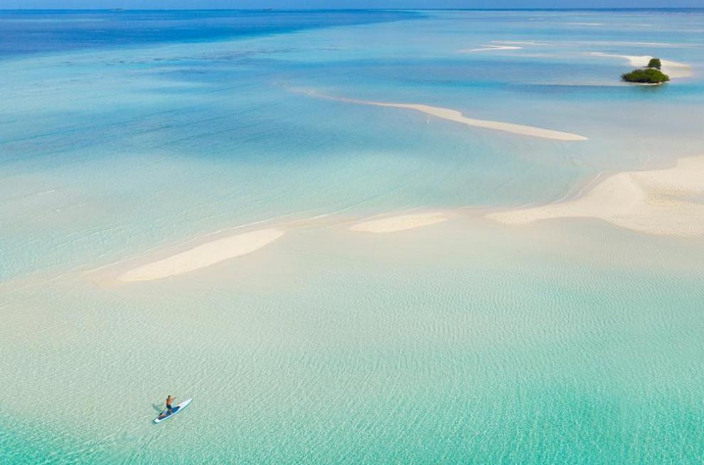 铂尔曼马尔代夫 Pullman Maldives Maamutaa Resort ,马尔代夫风景图片集:沙滩beach与海水water太美,泳池pool与水上活动watersport好玩