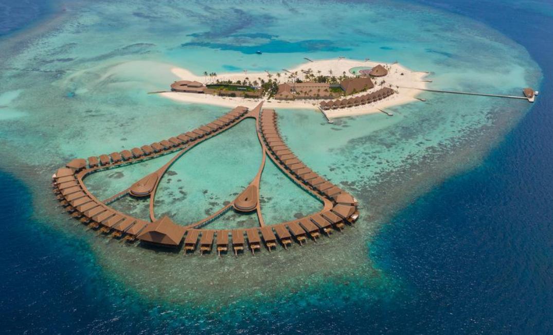 薇莉富士岛|希拉蒙 Cinnamon Velifushi Maldives 鸟瞰地图birdview map清晰版 马尔代夫