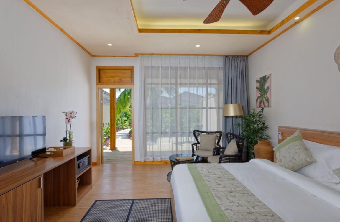 Garden villa-花园别墅 房型图片及房间装修风格(布伦尼亚岛 Brennia Kottefaru Resort  Spa Maldives)海岛马尔代夫