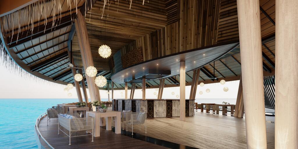 丽笙度假酒店 Radisson Blu Resort Maldive ,马尔代夫风景图片集:沙滩beach与海水water太美,泳池pool与水上活动watersport好玩