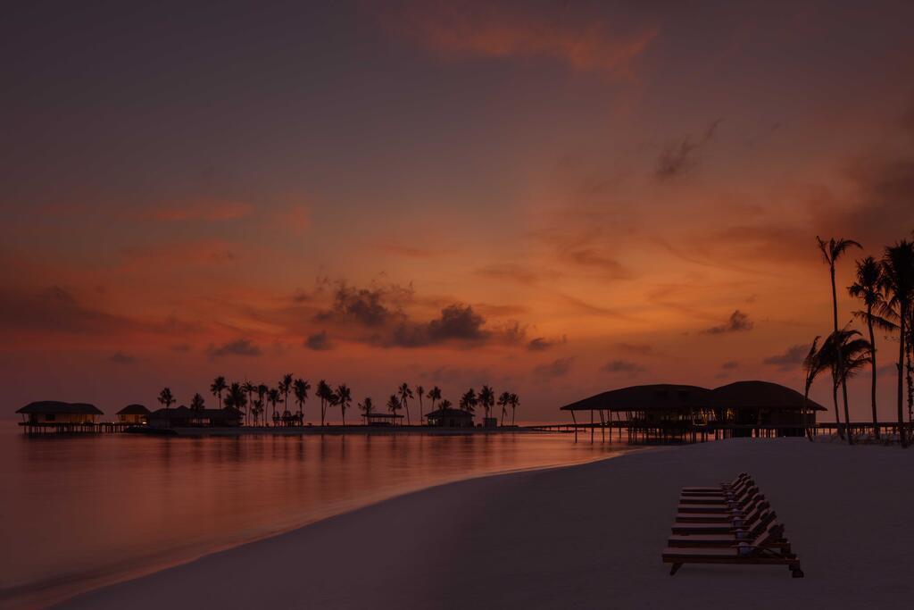 马尔代夫 丽笙度假酒店 Radisson Blu Resort Maldive 平面地图查看