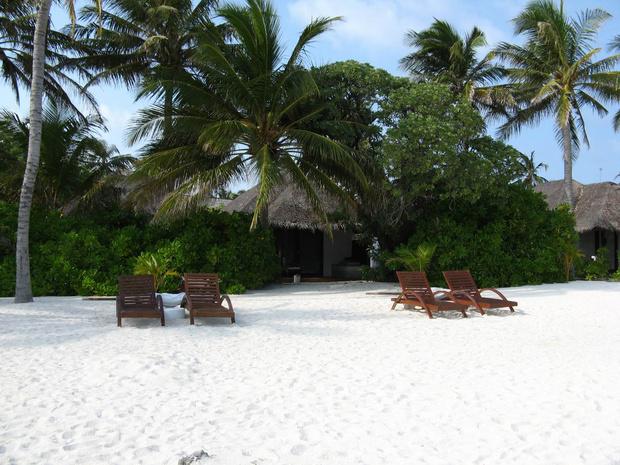 雪白雪白的沙滩