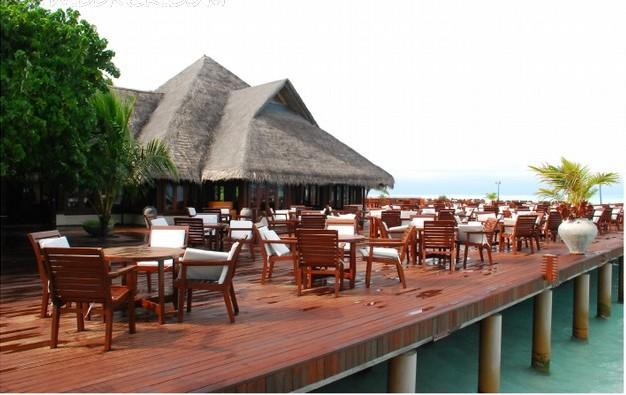 西餐厅,博博客专访活动,餐厅,马尔代夫,蜜月,双鱼岛