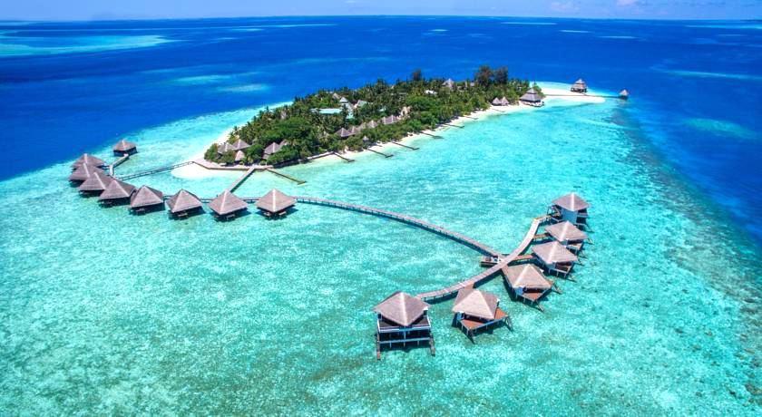 绚丽岛_伦娜里岛 Adaaran Rannalhi Club 鸟瞰地图birdview map清晰版 马尔代夫