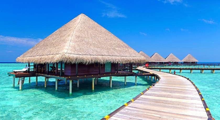 绚丽岛_伦娜里岛 Adaaran Rannalhi Club ,马尔代夫风景图片集:沙滩beach与海水water太美,泳池pool与水上活动watersport好玩