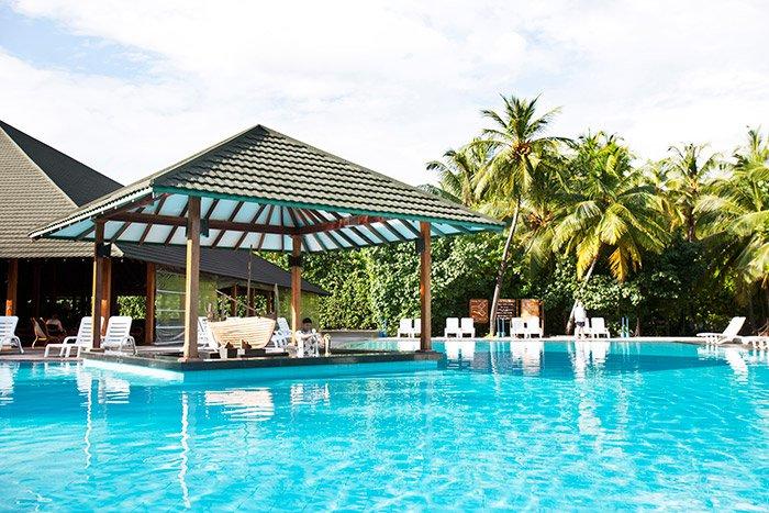 蜜都帕如岛|密度帕如 Meedhupparu ,马尔代夫风景图片集:沙滩beach与海水water太美,泳池pool与水上活动watersport好玩