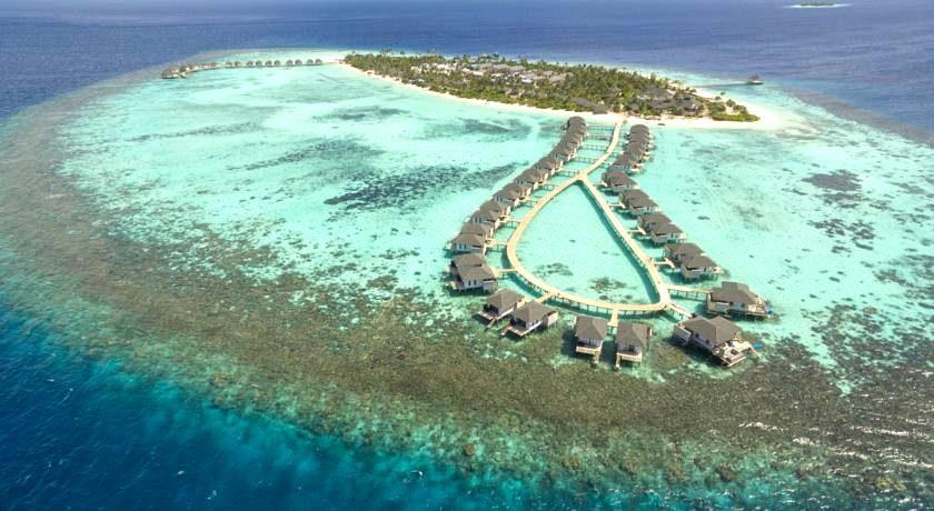 阿玛瑞|豪沃达 Amari Havodda Maldives 鸟瞰地图birdview map清晰版 马尔代夫