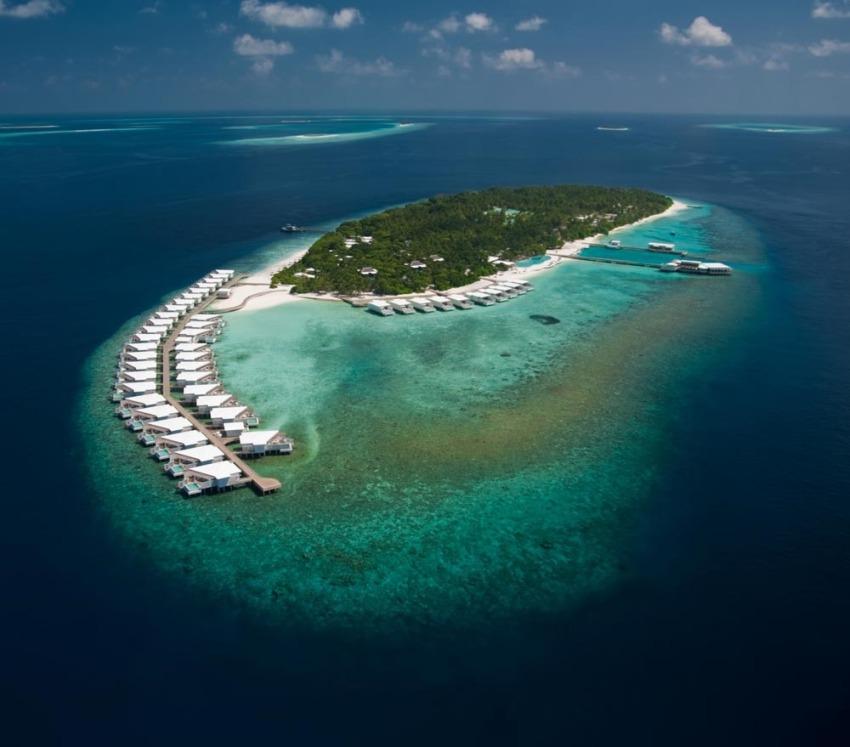 阿米拉 Amilla Fushi 鸟瞰地图birdview map清晰版 马尔代夫