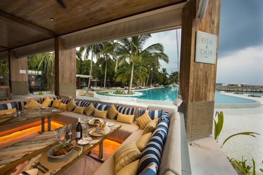阿米拉 Amilla Fushi ,马尔代夫风景图片集:沙滩beach与海水water太美,泳池pool与水上活动watersport好玩